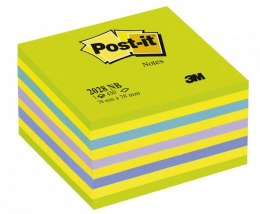 Bloczek 3M POST-IT 2028-NB 76x76mm niebiesko-zielony 400k FT510093253