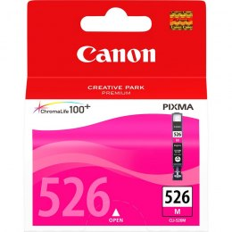 Tusz CANON (CLI-526M/4542B001) purpurowy 500str IP4850/MG5150/5250