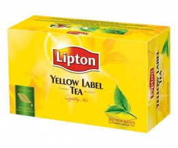 Herbata LIPTON YELLOW LABEL 50 torebek