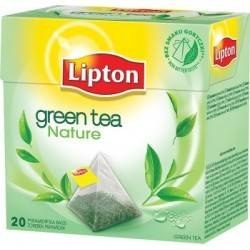Herbata LIPTON PIRAMID GREEN FRESH NATURE 20t zielona GREEN TEA