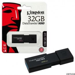 Pamięć Pendrive USB KINGSTON 32GB 3.0 DT100G3/32GB DataTravelr100