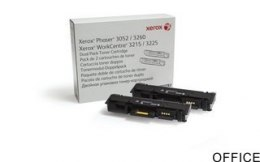 Toner XEROX 106R02782 2x3000 str on Phaser 3052/3260/WorkCentr