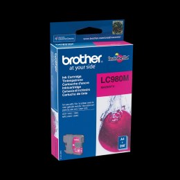 Tusz BROTHER (LC980M) purpurowy 260str DCP-145C/165C/ MFC-250C
