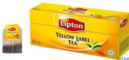 Herbata LIPTON YELLOW LABEL 25 torebek