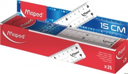 Linijka ESSENTIALS 15cm MAPED 146507