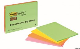 Bloczek 3M POST-IT 6845-SSP 203x152mm MEETING 4x45k 70005253326