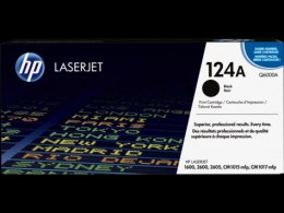 Toner HP 124A (Q6000A) czarny 2500str Color LaserJet 1600/2600/2605