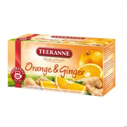 Herbata TEEKANNE FRESH Orange & Ginger 20t owocowa